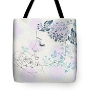 Kiss To A New Born Tote Bag