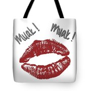 Kisses Tote Bag by Gina Dsgn
