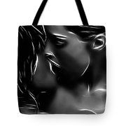 Kissing A Girl Tote Bag