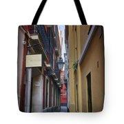 Kissing Lanes Seville Tote Bag