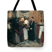 Kissing The Relic Tote Bag