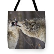 Kissy Face Tote Bag