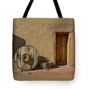 Kit Carson Home Taos New Mexico Tote Bag