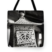 Kita-in Temple Iron Lantern In Kawagoe Tote Bag
