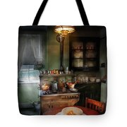 Kitchen - 1908 Kitchen Tote Bag by Mike Savad