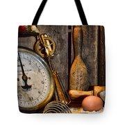 Kitchen - Baking A Strawberry Pie Tote Bag