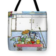 Kitchen Caddy Tote Bag