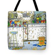 Kitchen Catastrophe Tote Bag