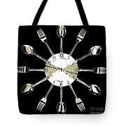 Kitchen Clock Tote Bag