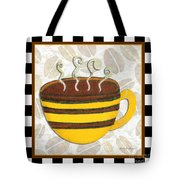 Kitchen Cuisine Hot Cuppa No14 By Romi And Megan Tote Bag