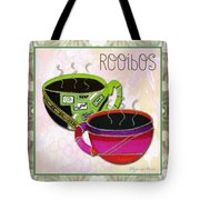 Kitchen Cuisine Rooibos Tea Party By Romi And Megan Tote Bag