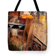 Kitchen - Food - Meat - Cheese - Eggs Tote Bag