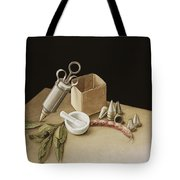 Kitchen Geometry Tote Bag