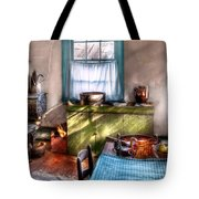 Kitchen - Old Fashioned Kitchen Tote Bag