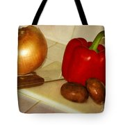 Kitchen Prep Tote Bag
