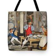 Kitchen Scene Tote Bag