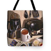 Kitchen Table No.1 1994   Skewed Perspective Series 1991 - 2000 Tote Bag