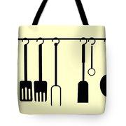 Kitchen Utensils Tote Bag