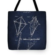 Kite Patent From 1892 Tote Bag by Aged Pixel