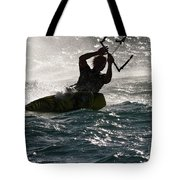 Kite Surfer 02 Tote Bag