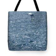Kite Surfing Tote Bag