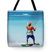Kitesurfer Tote Bag