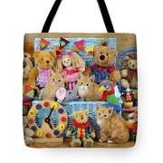 Kitten Dress Box Ck526 Tote Bag