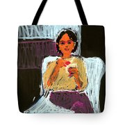 Kitty At Christmas Tote Bag