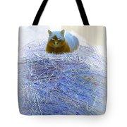 Kitty Blue IIi Tote Bag