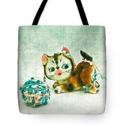 Kitty Mischief Tote Bag