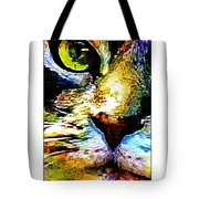 Kitty Nosed Tote Bag