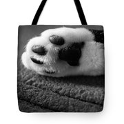 Kitty Paw Close Up Tote Bag