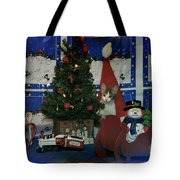 Kitty Says Merry Xmas Tote Bag