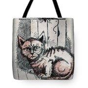 Kitty Sly Tote Bag