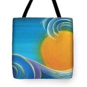 Kiwiana Surf Sun Tote Bag