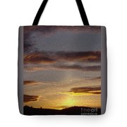Klamath Golden Sunset Tote Bag