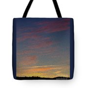 Klamath Summer Sunset Tote Bag