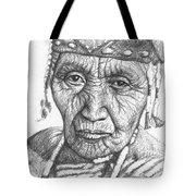 Klamath Woman Tote Bag