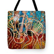 Klezmer Music Band Tote Bag