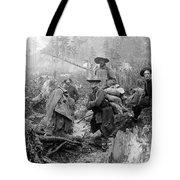 Klondike Gold Rush Miners  1897 Tote Bag