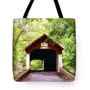 Knecht's Covered Bridge Tote Bag