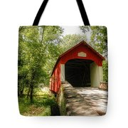 Knecht's Covered Bridge Tote Bag