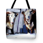Knee Deep Tote Bag by Molly Poole