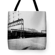 Knickerbocker Special Leaving St. Louis Union Station Tote Bag by Georgia Fowler
