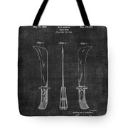 Knife Patent 1942 005 Tote Bag