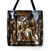 Knight And Friends Tote Bag