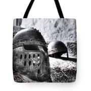 Knight Helmet Tote Bag