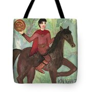 Knight Of Pentacles Tote Bag
