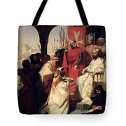 Knights Of The Order Of St John Of Jerusalem Restoring Religion In Armenia Tote Bag