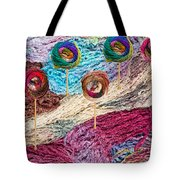 Knitting Lane Tote Bag